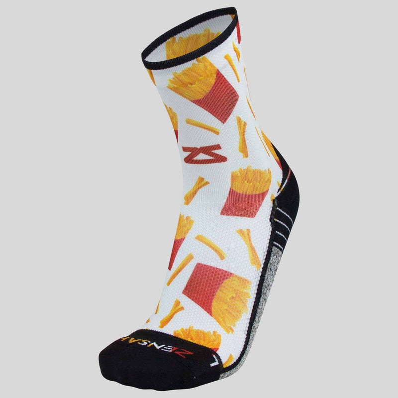French Fries Socks (Mini Crew)