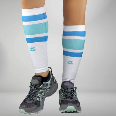 Retro Wide Stripes Compression Leg Sleeves