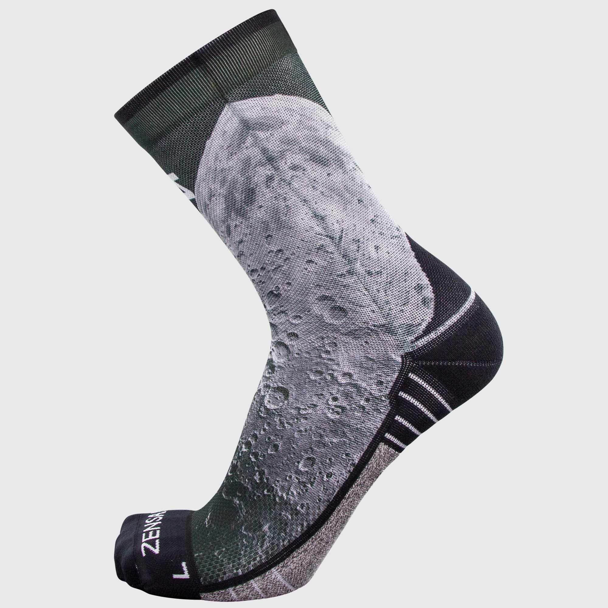 Moon Socks (Mini-Crew)