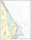 NOAA Print-on-Demand Charts US Waters-Ponce de Leon Inlet to Cape Canaveral-11484