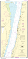 NOAA Print-on-Demand Charts US Waters-Hudson River Yonkers to Piermont-12346
