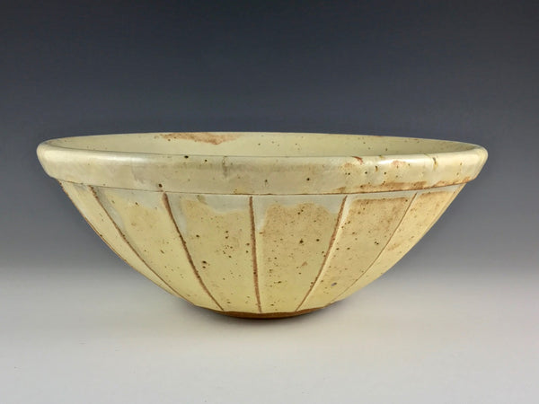 Mark Skudlarek large stoneware mixing bowl