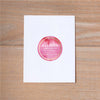 Modern Watercolor Personal Sticker shown in Peony