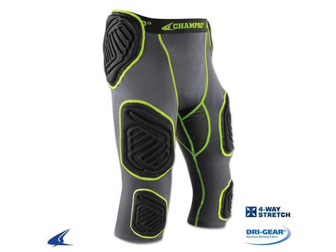 Champro Bull Rush 7 Piece Football Girdle - Youth