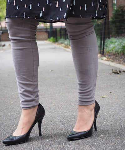 Suede Legging - Grey
