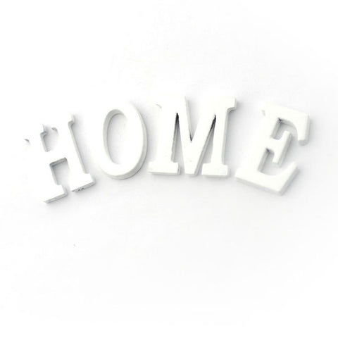 'HOME' Letters