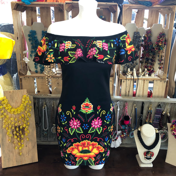Bonita Dress - Cielito Lindo Mexican Boutique