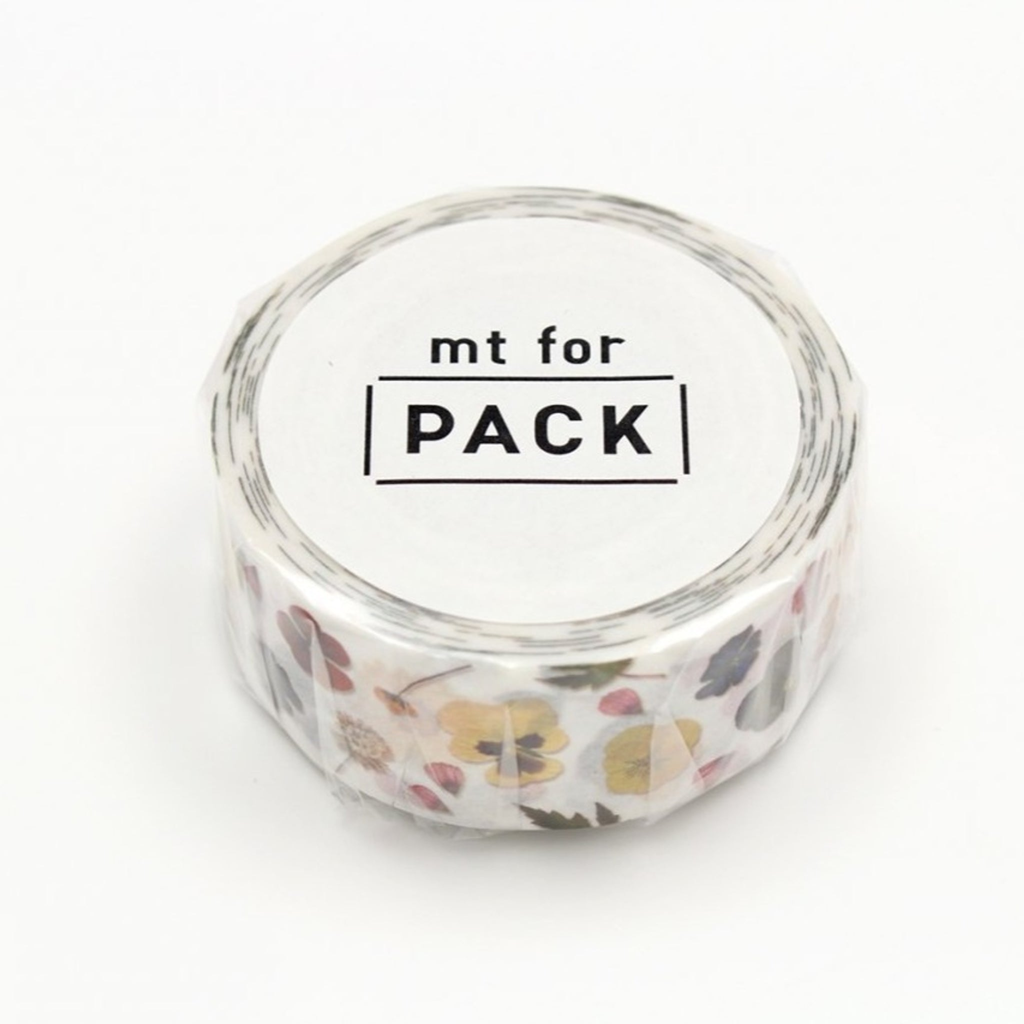 MT For Pack Permanent Tape Pressed Flower