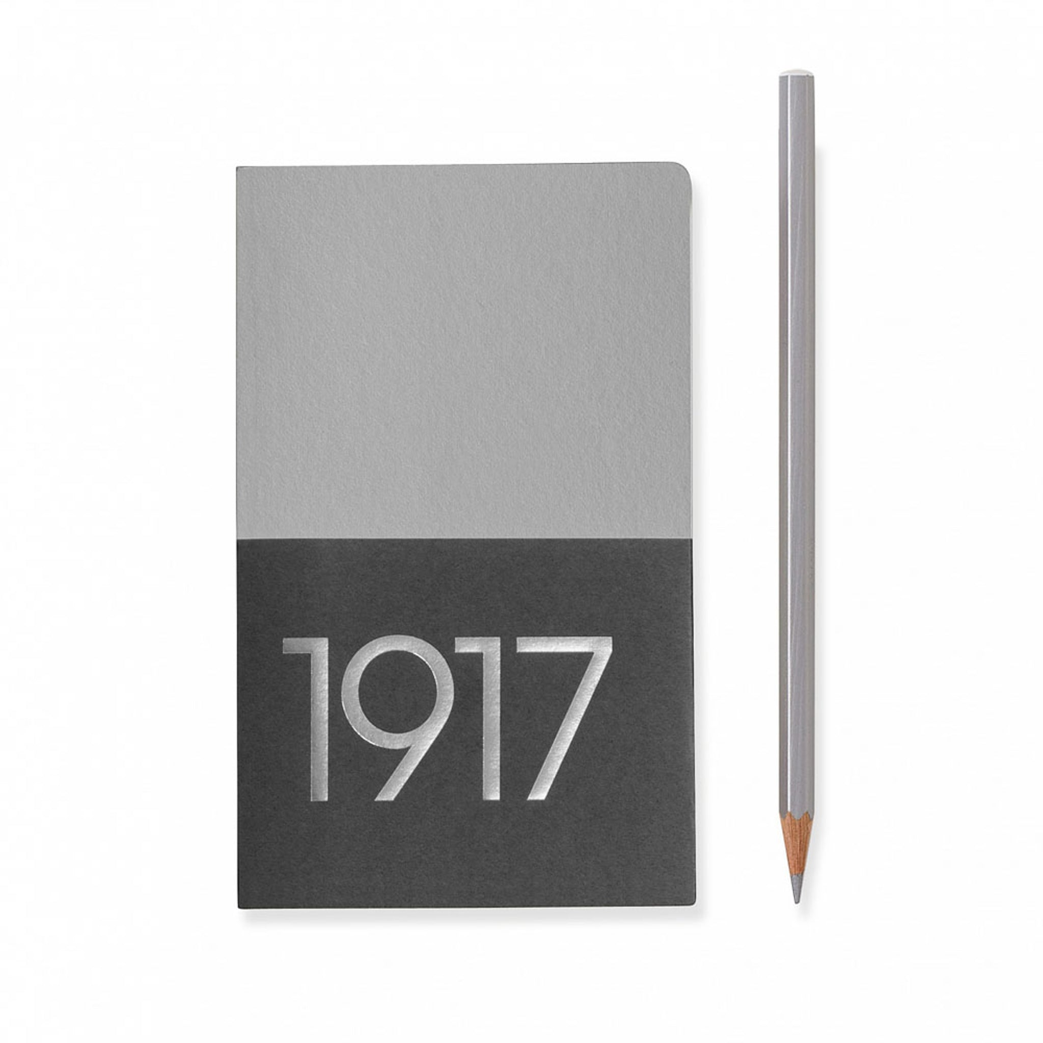 Leuchtturm1917 Metallic Edition A6 Pocket Jottbook Silver - Ruled (Twin Pack)