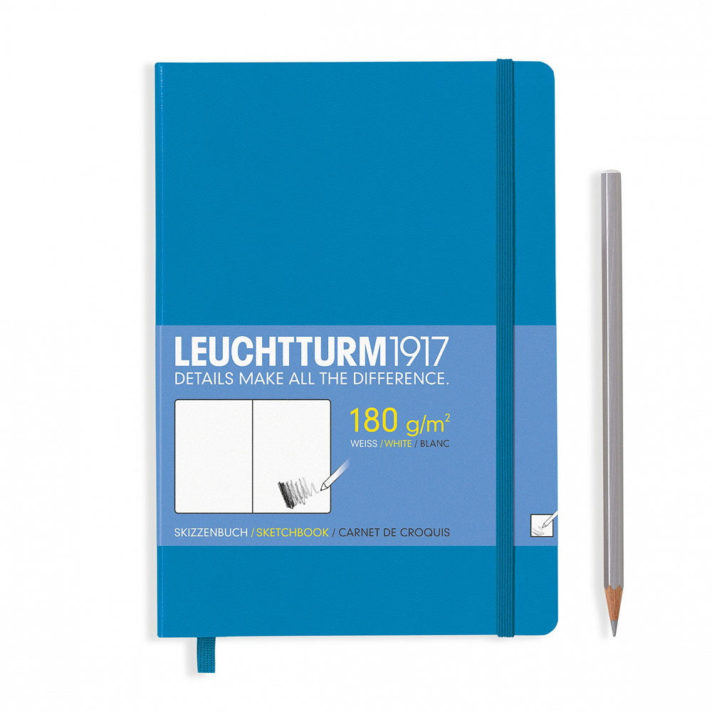 Leuchtturm1917 Hardcover A5 Medium Sketchbook Azure