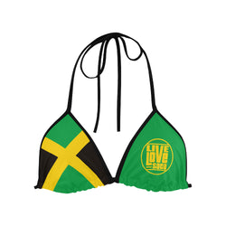 Jamaica Bikini Swimsuit (Top) - Live Love Soca Clothing & Accessories