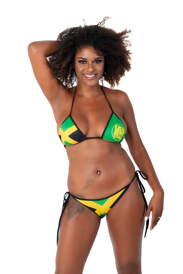 Jamaica Bikini Swimsuit (Full Set) - Live Love Soca Clothing & Accessories