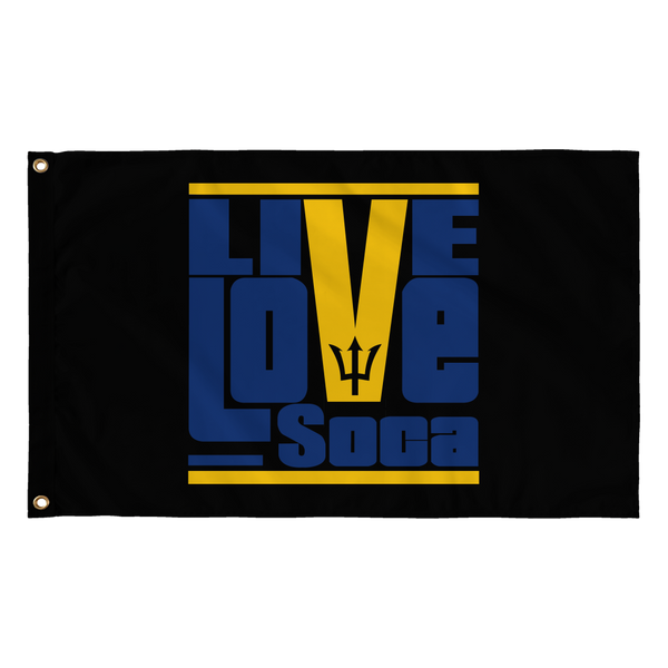 BARBADOS FLAG - Live Love Soca Clothing & Accessories