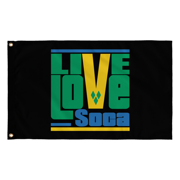 ST. VINCENT FLAG - Live Love Soca Clothing & Accessories