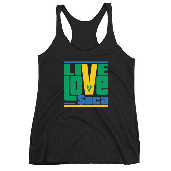 Saint Vincent & The Grenadines Islands Edition Womens Tank Top