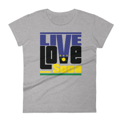Guadeloupe Islands Edition Womens T-Shirt - Live Love Soca Clothing & Accessories