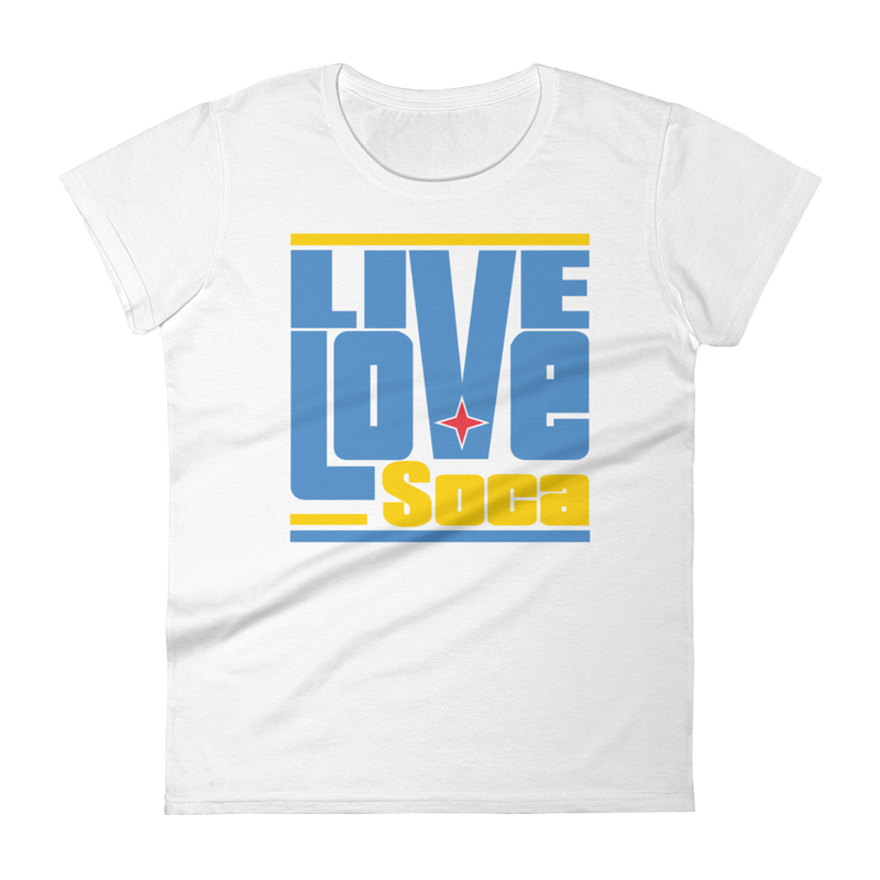 Aruba Islands Edition Womens T-Shirt - Live Love Soca Clothing & Accessories