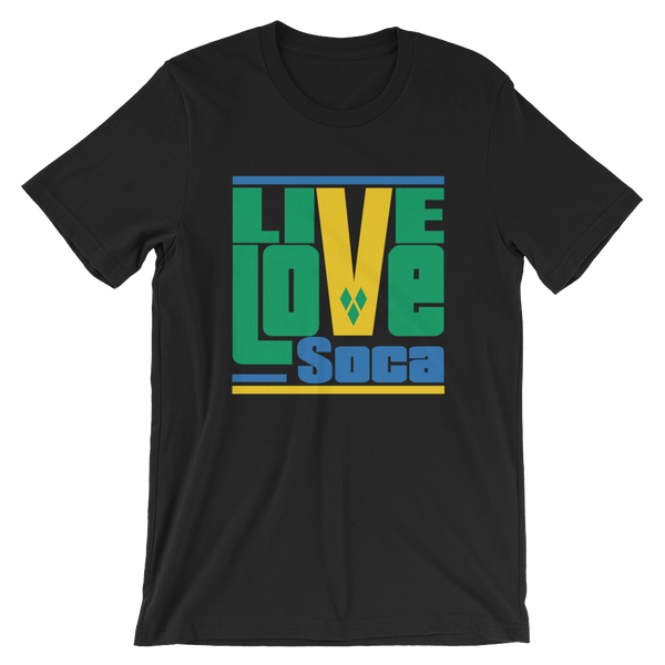 Saint Vincent & The Grenadines Islands Edition Mens T-Shirt - Live Love Soca Clothing & Accessories
