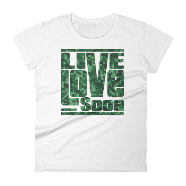 Army (Green) Women's T-Shirt - Live Love Soca Clothing & Accessories