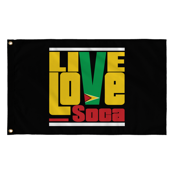 GUYANA FLAG - Live Love Soca Clothing & Accessories