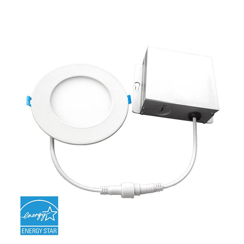 "LED 6"" Recessed Can Light with Gimbal - 12W"