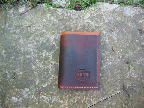 Brown & Tan Wallet Duals Wallet