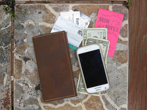 Brown & Tan Wallet Axiom Phone Wallet