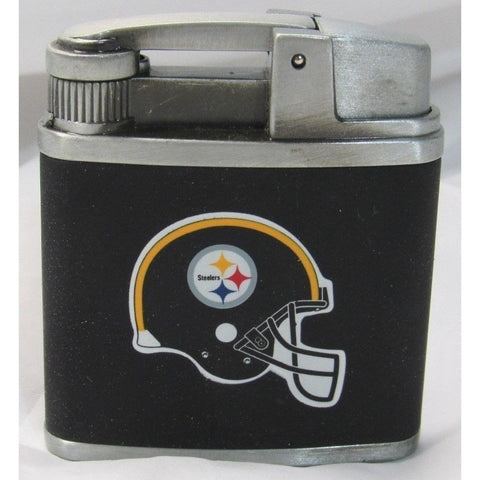NFL Pittsburgh Steelers Windproof Refillable Butane Lighter w/Gift Box by FSO