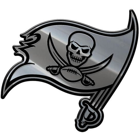 NFL Tampa Bay Buccaneers 3-D Chrome Heavy Metal Emblem By Team ProMark