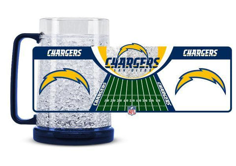 NFL Los Angeles Chargers 16oz Crystal Freezer Mug by Duck House