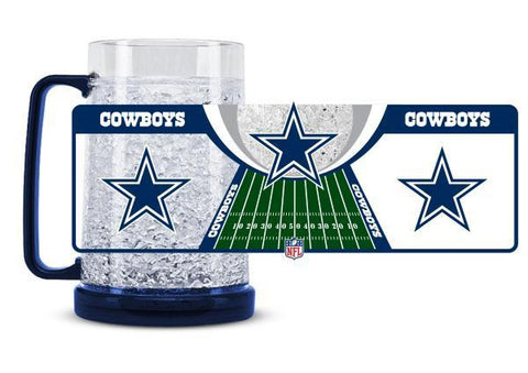 NFL Dallas Cowboys 16oz Crystal Freezer Mug by Duck House