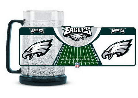 NFL Philadelphia Eagles 16oz Crystal Freezer Mug by Duck House