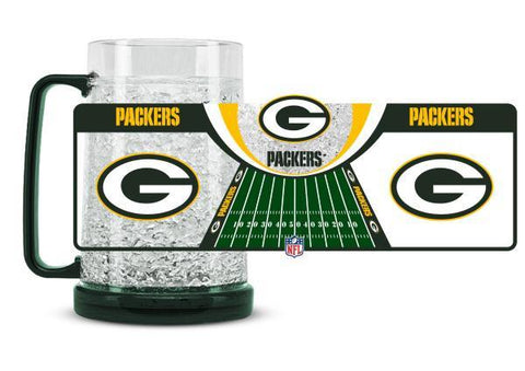 NFL Green Bay Packers 16oz Crystal Freezer Mug by Duck House