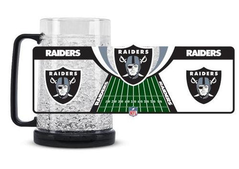 NFL Oakland Raiders 16oz Crystal Freezer Mug by Duck House
