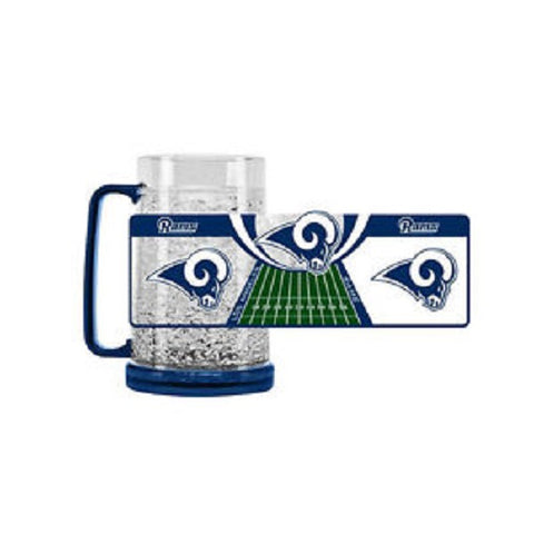 NFL Los Angeles Rams 16oz Crystal Freezer Mug by Duck House