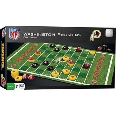 NFL Washington Redskins Checkers Game by Masterpieces Puzzles Co.