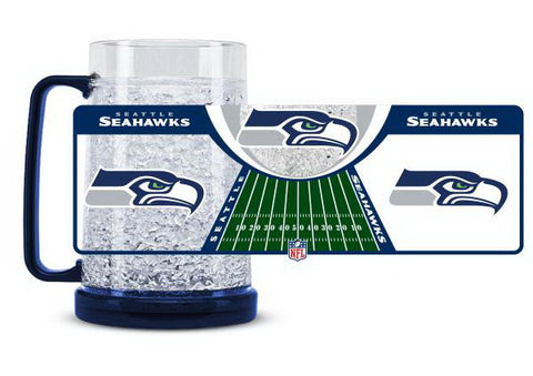 NFL Seattle Seahawks 16oz Crystal Freezer Mug by Duck House
