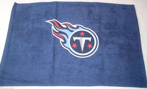 "NFL Tennessee Titans Logo Only Fan Towel Navy 15"" by 25"" by WinCraft"