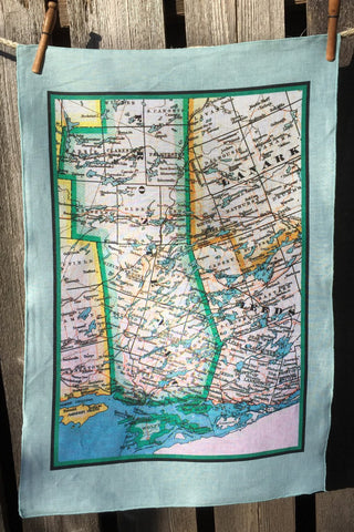 Rideau Lakes Vintage Tea Towel