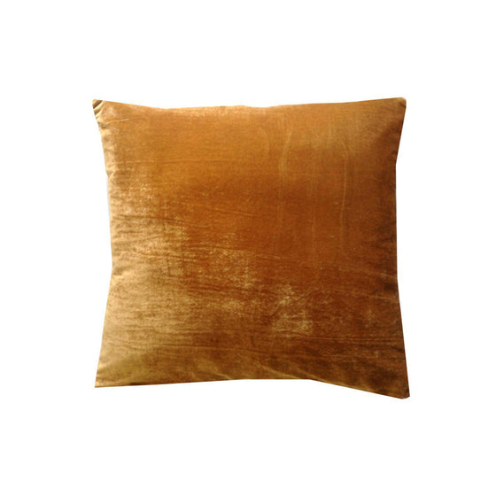 FREE SHIPPING Golden Brown Velvet Pillows, Brown Bedroom Decor, Velvet sofa pillows, Velvet bed pillows - Snazzy Living