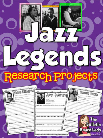Jazz Musicians Research Pages
