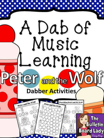 Dabber Activities for Music Class – Peter and the Wolf