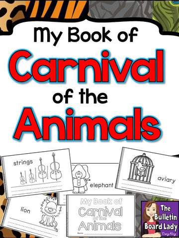 My Book of Carnival of the Animals