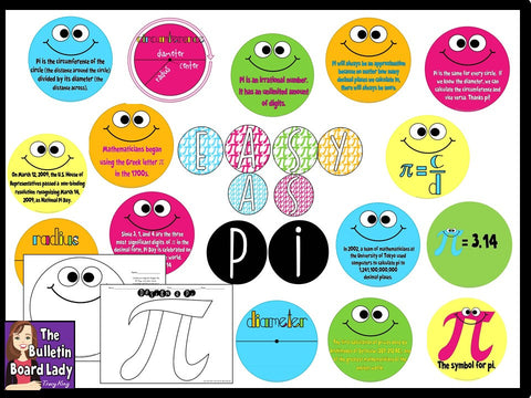 Got Pi - Pi Day Math Bulletin Board