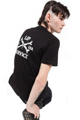 Cross Bones Tee-Tops-Lip Service