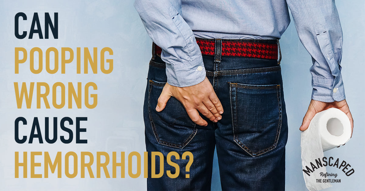 Can Pooping Wrong Cause Hemorrhoids?