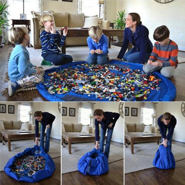 Drawstring Toy Bag Play Mat