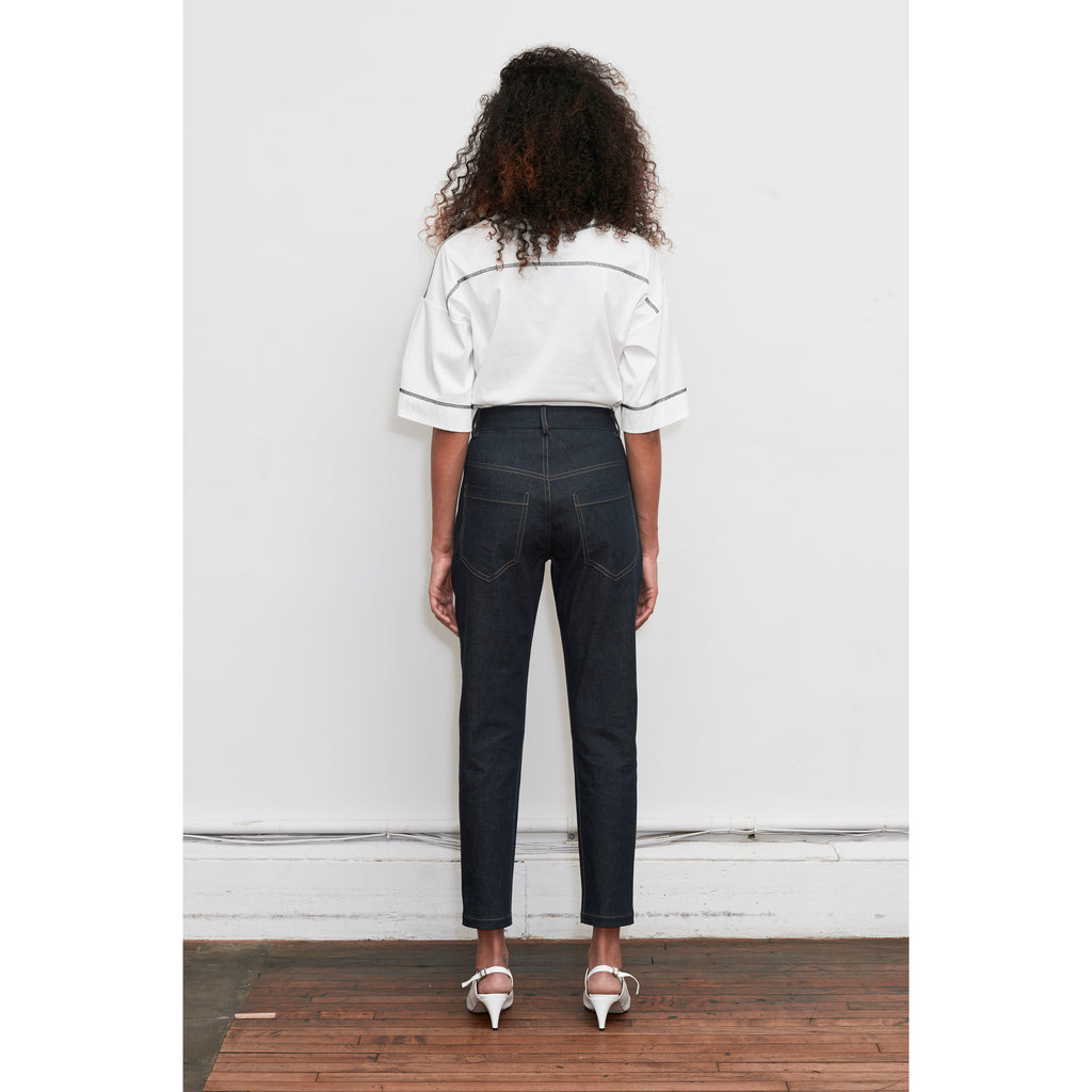 Z Dark Blue Highwaisted Slim Jeans
