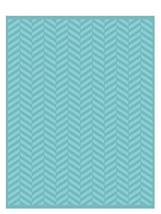 Twill Herringbone Embossing Folder