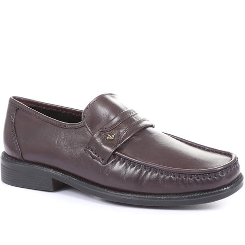 Wider Fit Leather Loafer - MOHPV30016 / 316 325